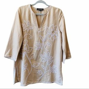 CONTEXT For L&T Embroidered Tunic Size L